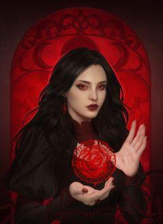 Fantasy Girl, Dark Fantasy Art, Fantasy Concept Art, Female Vampire, Vampire Girls, Vampire Art, Fantasy Character Design, Character Inspiration, Character Art