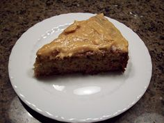Banana Chocolate Chip Cake with Peanut Butter Buttercream  Rabbitt Food: Sinfully Delicious Grain Free Recipes