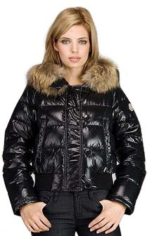 Moncler Women's Alpes Down Jacket Black