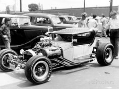 Vintage Hot Rod T bucket Roadster Photo at AllPosters.com