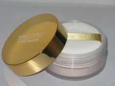 Estee Lauder Beautiful Perfumed Dusting Body Powder 1.0 oz UNBOXED by Estee Lauder. $39.99. Sealed. Unboxed. 1 oz. BENEFIT: Elegant and comforting FEELING: Rich, Romantic, Luxurious PRODUCT DETAILS: Light and silky, with just a hint of sparkle. Leaves your skin smooth and comfortable, fragranced with the classic scent of Beautiful. The fragrance of a thousand flowers. A tender bouquet of Lilies and Roses, Marigold and Orange Blossoms...all warmed with a rich, woo...