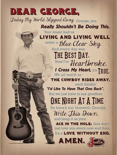 George Strait, forever the King of country. Who couldn't love George Strait? Country Music Quotes, Country Lyrics, This Is Your Life, Way Of Life, Justin Boots, Country Artists, Country Singers, Country Musicians, Music Lyrics