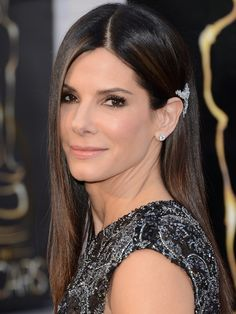 """Sandra Bullock - I've been a fan of hers since she took over and drove the bus in the movie """"Speed"""" almost two decades ago. And she doesn't get caught up in her own celebrity. Very classy lady."""
