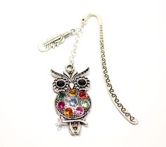 Original tab for books Dimensions: pendant size: approx. 5 cm the amount of overlap: approx. Bookmarks, Owl, Brooch, The Originals, Pendant, Bracelets, Jewelry, Bangles, Jewellery Making