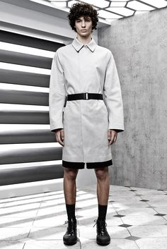 Spring 2015 Menswear - Balenciaga love the structure and shape of this jacket.