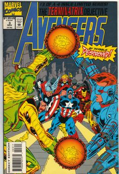 The Avengers Back Issues