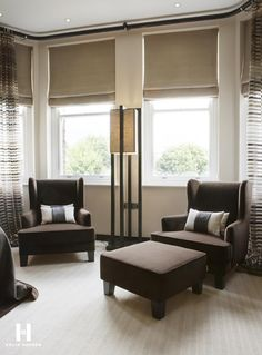 Kelly Hoppen for Regal Homes Bedroom Nook, Home Bedroom, Bedrooms, Living Room Inspiration, Home Decor Inspiration, Kelly Hoppen Interiors, Interior Styling, Interior Design, Beautiful Curtains