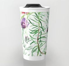 This illustration was created for the love of strong, sharp petals, immortal flowers. Thistles in vivid colors catch the eye with their all over entanglement. Thistles, Home Deco, Vivid Colors, Strong, Eye, Create, Tableware, Illustration, Flowers