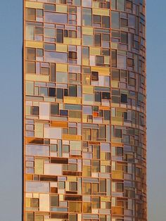 Jean Nouvel_100 11th Avenue_ Sunset Facade by SteMurray, via Flickr