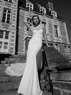 Mы ❤ это облегающее свадебное платье #weddingdress от #InbalDror