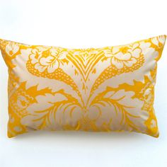 Marimekko  Gold and Silver Cotton Sateen Cushion / by OnHighat5