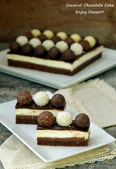 Chocolate Recipes, Chocolate Cake, Icebox Cake, Colorful Cakes, Breakfast Dessert, Pastry Cake, Brownies, Something Sweet, Ice Cream Recipes