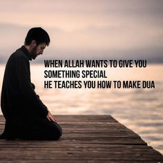 There are some days I feel that extra emotional pool to make dua. I know that is Allah calling me to dua!