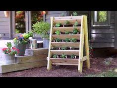 Canteiros Verticais para Plantas