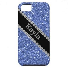 BLUE CRYSTAL  I phone 5 CASE iPhone 5 Covers