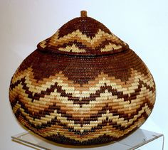 "Handcrafted Zulu ""Iquamba"" Beer Basket 