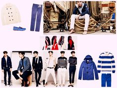 Navy style, an evergreen of fashion...