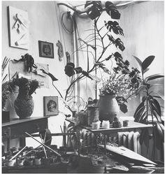 Corner of Braque's Studio,Paris, 1946 Fritz Henle