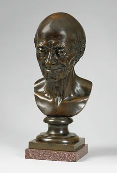 Jean-Antoine Houdon (Versailles 1741-1828 Paris) French, signed and dated 1778 BUST OF VOLTAIRE