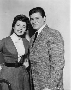 """Ritchie Valens and his """"Donna"""" ♥️ This was before it was accepted Rock Roll, Ritchie Valens La Bamba, American Bandstand, Celebrity Deaths, Teddy Boys, Buddy Holly, Famous Couples, Famous Faces, Music Songs"""
