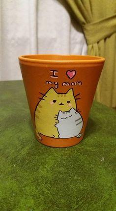 Flower Pot Art, Clay Flower Pots, Flower Pot Crafts, Vase Crafts, Cement Crafts, Clay Pot Crafts, Painted Plant Pots, Painted Flower Pots, Save On Crafts