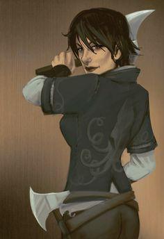 Asha Greyjoy by Endoftheline - one of my favorite ladies of asoiaf!!