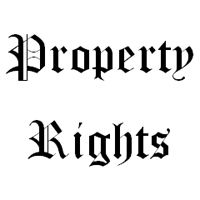 Property Rights: Property rights are the ability of having personal ownership of assets. These are considered to be the engines of wealth creation of the world.    http://www.arbitrageportfolio.com/property-rights/