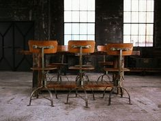 Terug in de schoolbanken met deze industriële interieurlook Roomed | roomed.nl