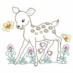 Vintage Baby Animals 2, 6 - 3 Sizes!   What's New   Machine Embroidery Designs   SWAKembroidery.com Ace Points Embroidery