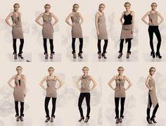 DIY a multiform dress