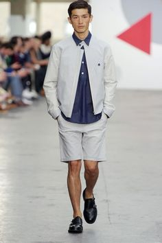 Oliver Spencer Spring/Summer 2013 - Look dapper in timeless classic neutrals this festival season