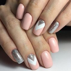 Trendy And Stylish Glitter Nail Designs 2018 - Fashionre #Glitternaildesigns #glitternails