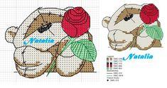 Cross Stitch Love, Cross Stitch Designs, Cross Stitch Patterns, Cross Stitching, Cross Stitch Embroidery, Fizzy Moon, Stitch Tattoo, Blue Nose Friends, Christmas Crochet Patterns