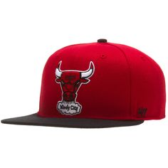 37e4e6715d5 Chicago Bulls Red HWC Snapback Hat
