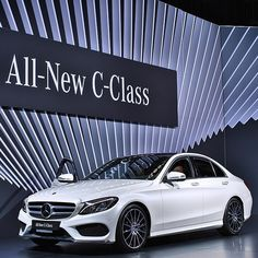 Game changer.  #NYIAS #MercedesBenz #CClass