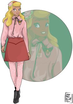Disney University - Charlotte La Bouff by Hyung86.deviantart.com on @DeviantArt