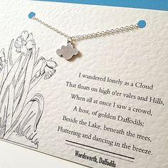 Wordsworth Silver Cloud Necklace