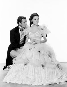 "Frank Lawton, Maureen O'Sullivan in ""David Copperfield"" (1935). Director: George Cukor."