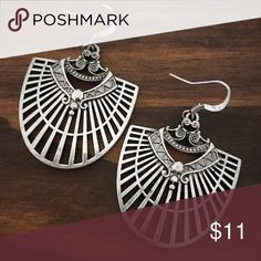 Silver Tribal Earrings Brand new silver Tribal earrings. Tags: country girl cowgirl jewelry boots western jewelry earrings Boho gypsy tribal Aztec Navajo southern southwest western rodeo cowgirl style Jewelry Earrings