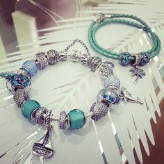Pandora bracelets... these are really pretty