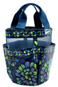 Vera Bradley Shower Caddy.  I think I would want a different pattern.