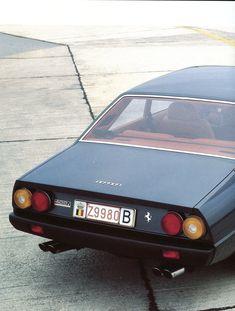 Ferrari 400i - Pininfarina (1979-1985) - Automobiles Classiques automne 1984.