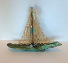 Driftwood Sailboat by RevisitedConcepts on Etsy