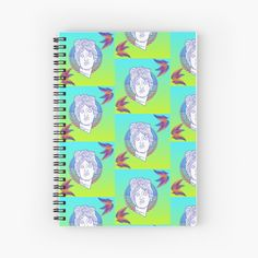 'Paradise stickers Spiral Notebook by CthroughMYeyes Notebook Design, Transparent Stickers, Glossier Stickers, Iphone Wallet, Sell Your Art, Spiral, Paradise, My Arts, Art Prints