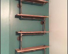 30 estante hecho de madera recuperada y por HamptonIndustrial