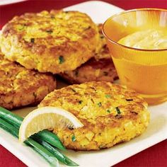 Curried Salmon Cakes Recipe | MyRecipes.com Mobile