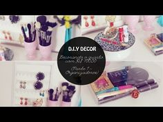 DIY Kombi - Porta treco decorativo - YouTube