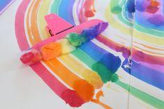 Easy DIY Rainbow Painter - Mama.Papa.Bubba.