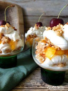 Småbrisene nektariner - Fra mitt kjøkken Desserts, Tailgate Desserts, Deserts, Dessert, Food Deserts