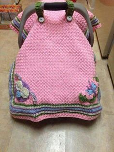 Carry cover janeaukesclark do you think grandma could make these more pins for your board crochet car seat tent cover dt1010fo